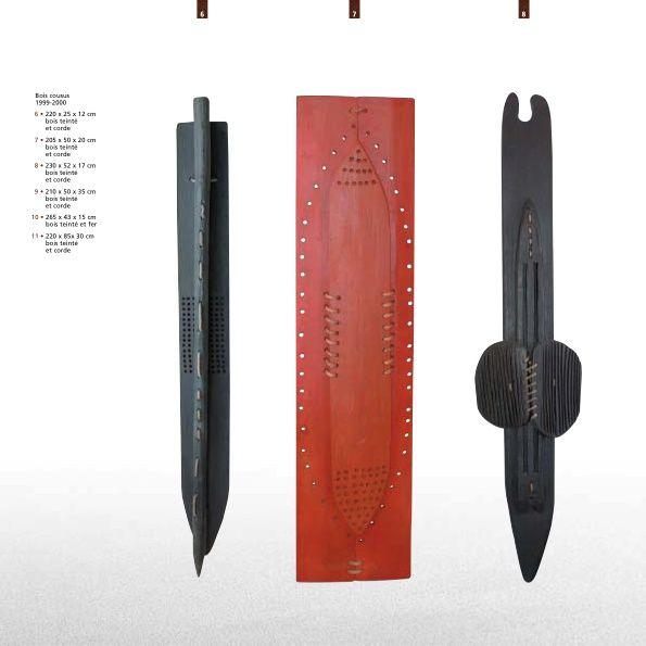 Album 4— Sculptures bois et Bois-cousus