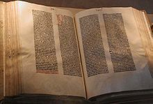 220px-Gutenberg Bible