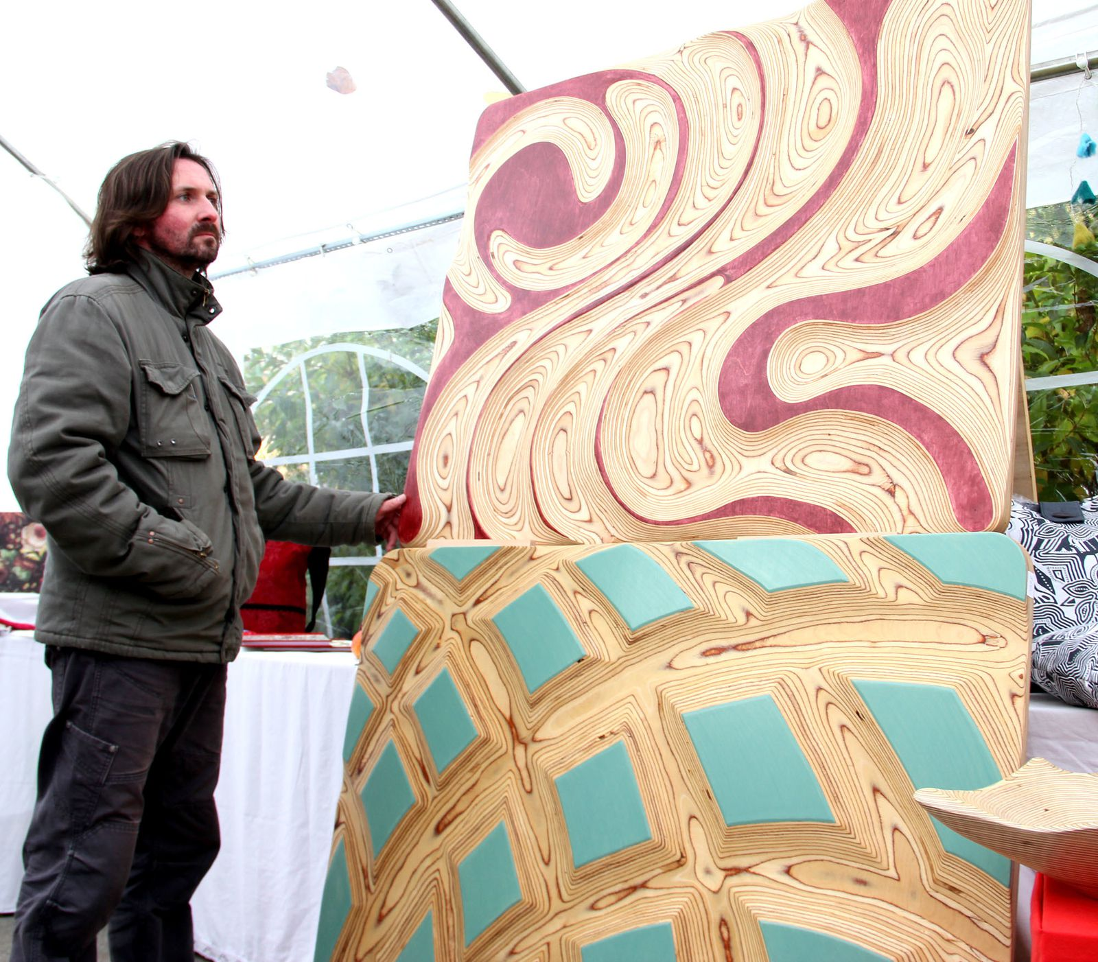 Oleg Melcher - Dreidimensionale HolzkunstBilder