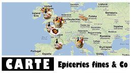 Epiceries fines, marchs, charcuteries...