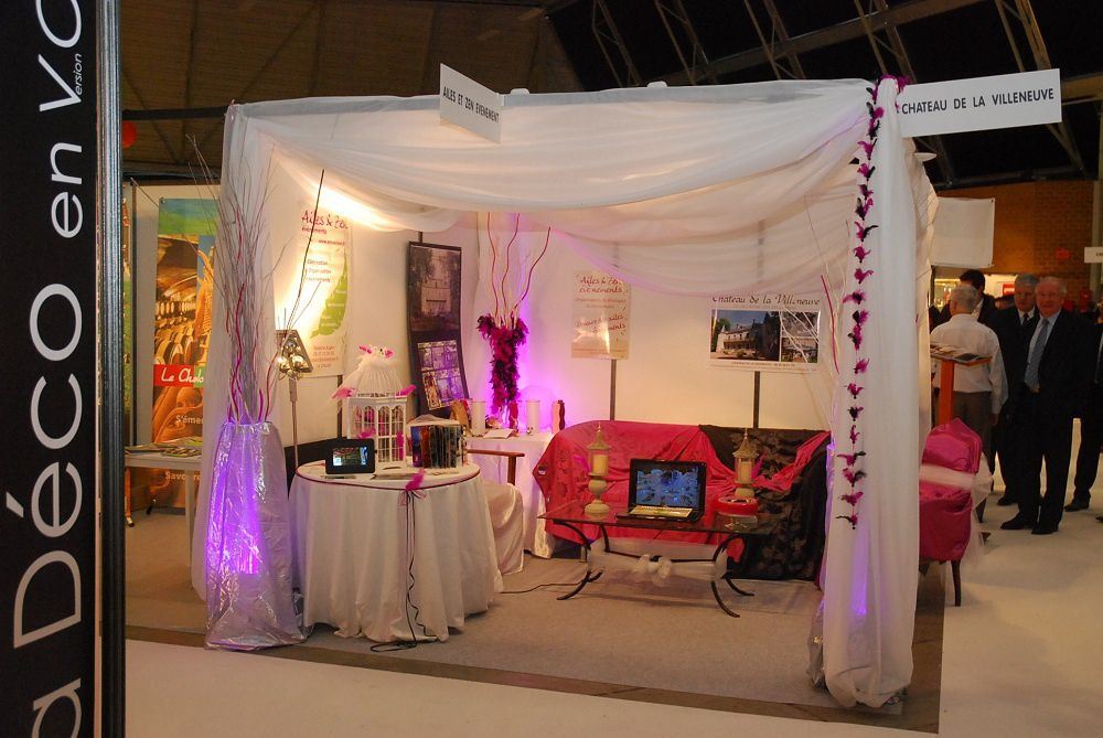 Album salon du mariage blog ailes et zen v nements for Salon stand