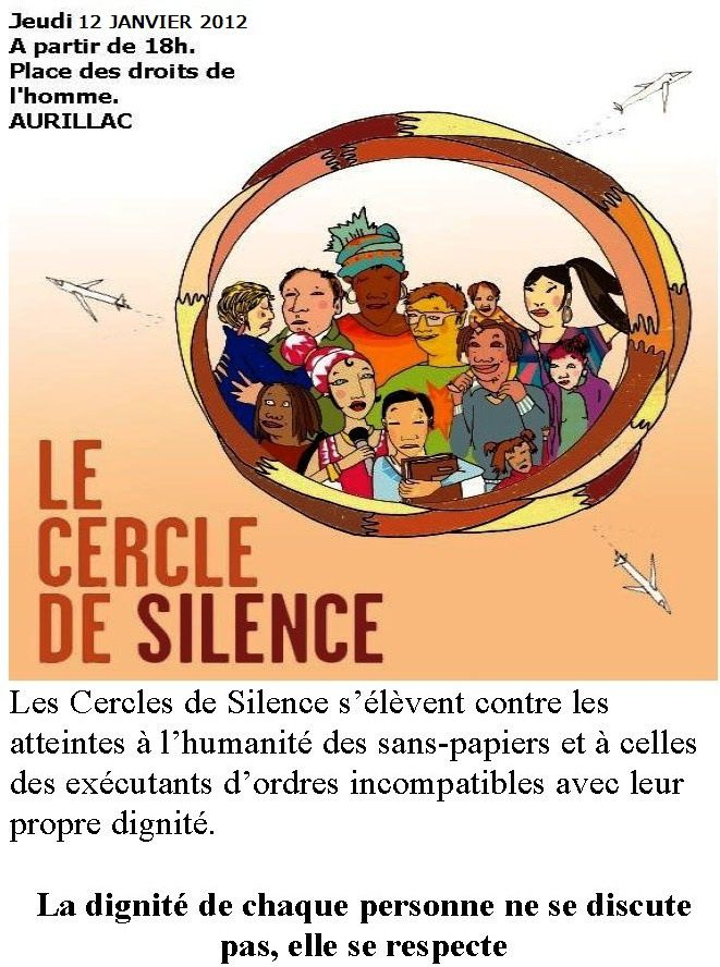 Tract Cercle-de-silence-Aurillac Page 1