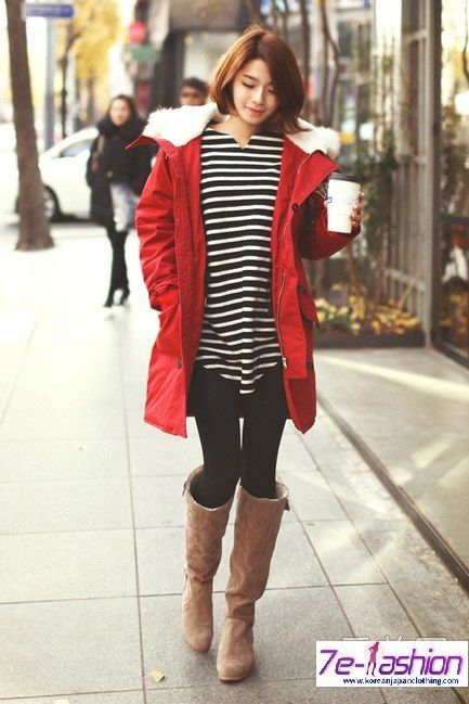 Winter Korean Style Fashion Clothing For Women Name