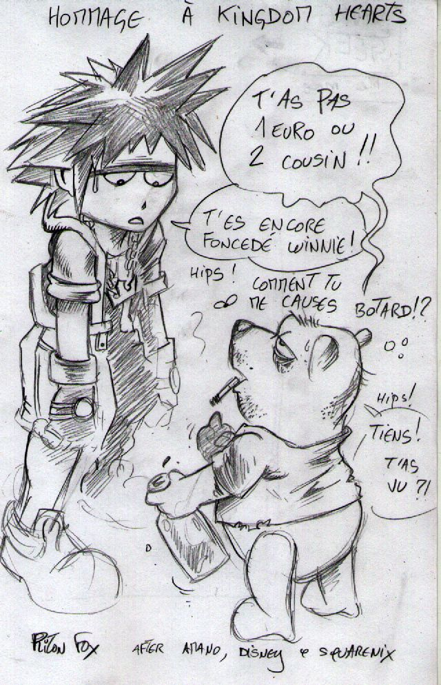 hommage kingdom hearts