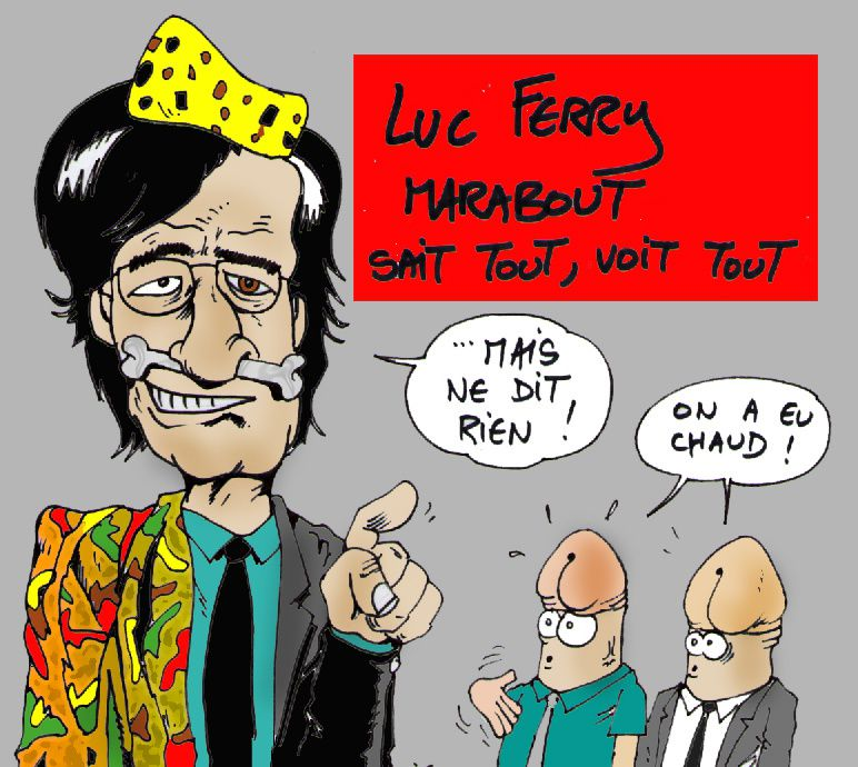 luc ferry marabout