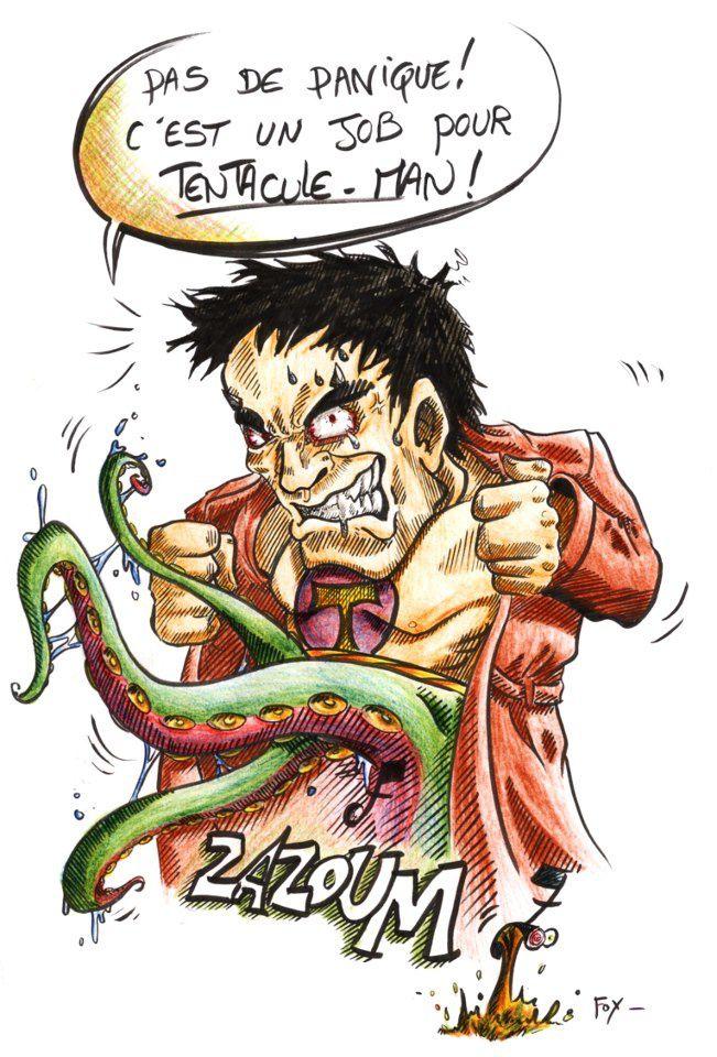 tentacule man (encrage & colo Salomé)