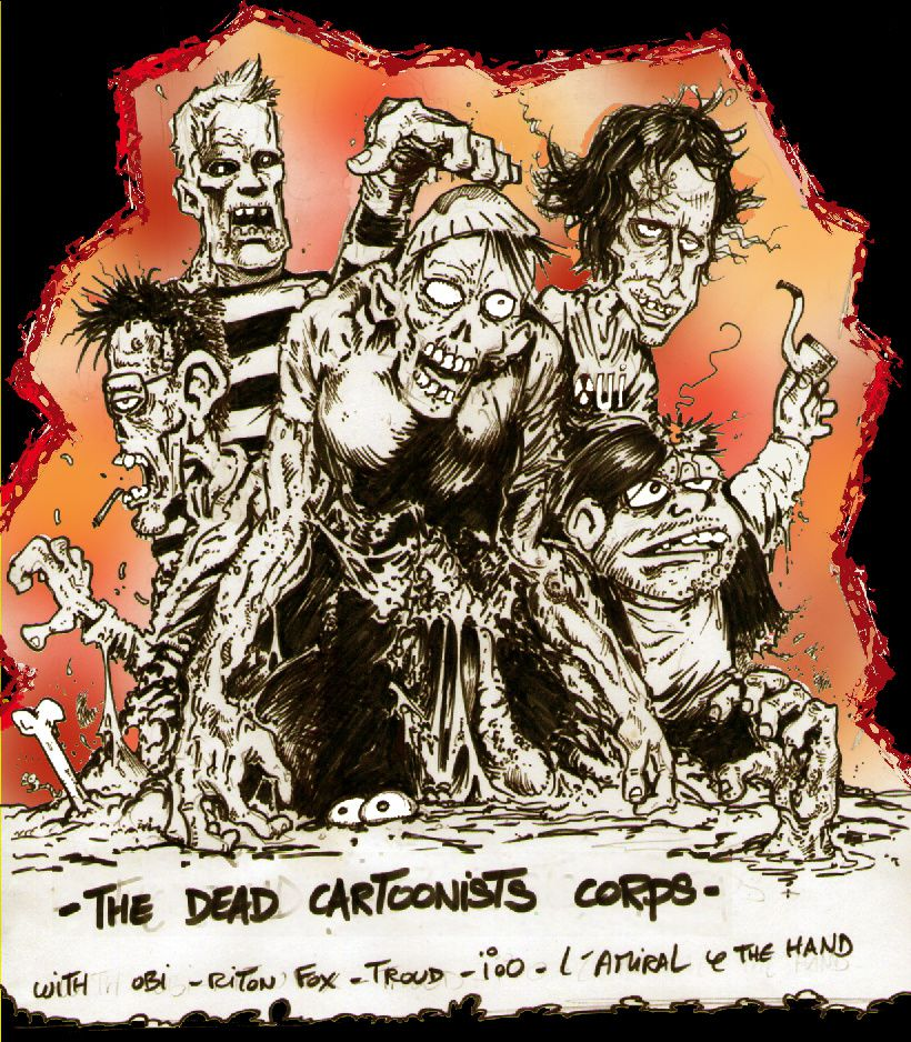 dead cartoonists corps