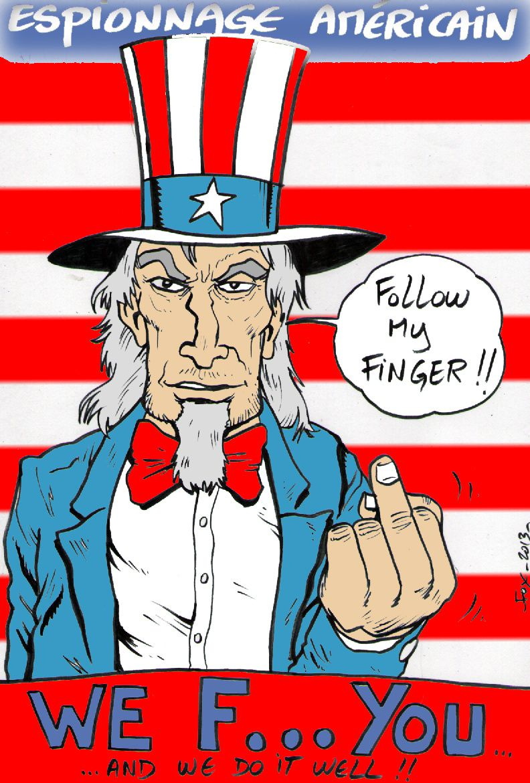 espionnage américain