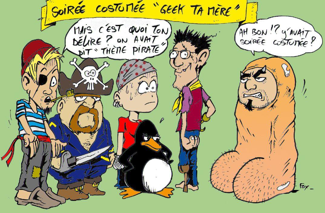 geek (soirée costumée pirates)