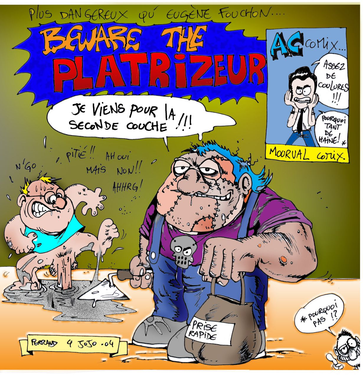 Beware the platrizer (eugene fouchon)