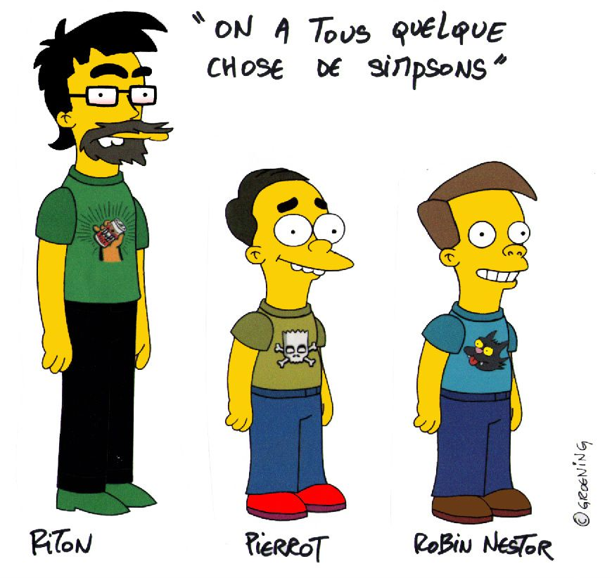 Simpsons hommage