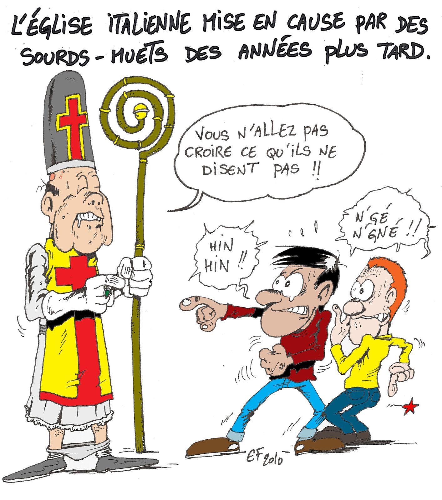 curés pédophiles (pléonasme)