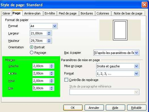 Papier lettre openoffice - Comment faire une brochure sur open office ...