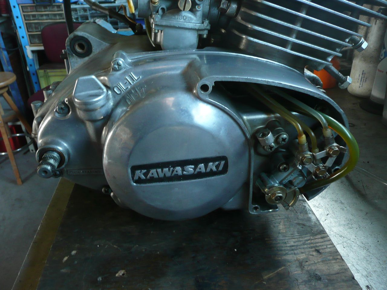 Album - Restauration kawasaki 400 S3