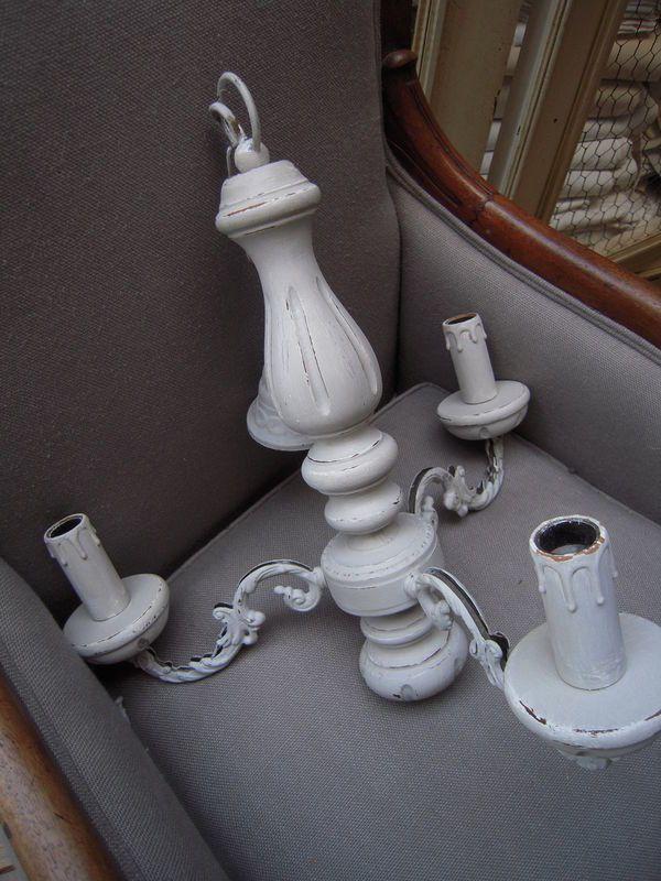 lustre ancien en bois bronze 3 bras patin gris patine et gaufre blog d coration de charme. Black Bedroom Furniture Sets. Home Design Ideas