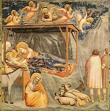 220px-Giotto - Scrovegni - -17- - Nativity, Birth of Jesus