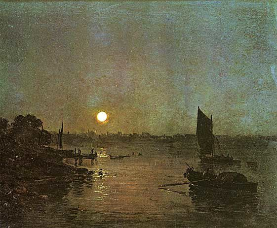 Moonlight A Study at Millbank 1797