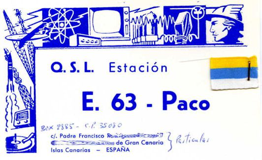 E.63 PACO Op.Francisco les canaries