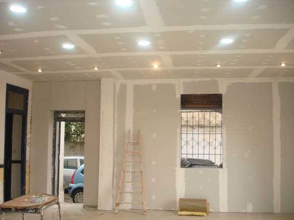 Awesome dicor placo platre pictures design trends 2017 for Faux plafond platre simple