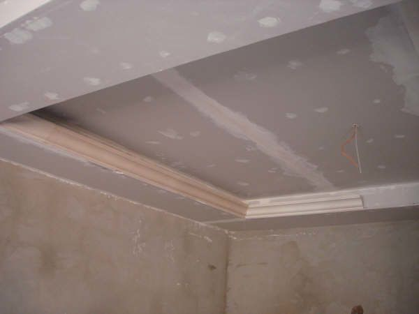 Faux plafond en placoplatre ba13 d cor le blog de for Double faux plafond
