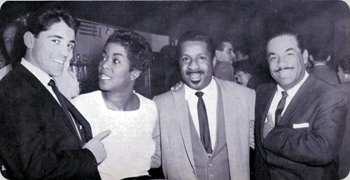 Sacha Distel,Sarah Vaughan, Erroll Garner et Machito