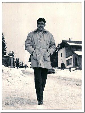 Sacha Distel à Crans sur Sierre' 1964