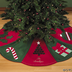 tapis de sapin de noel i love. Black Bedroom Furniture Sets. Home Design Ideas