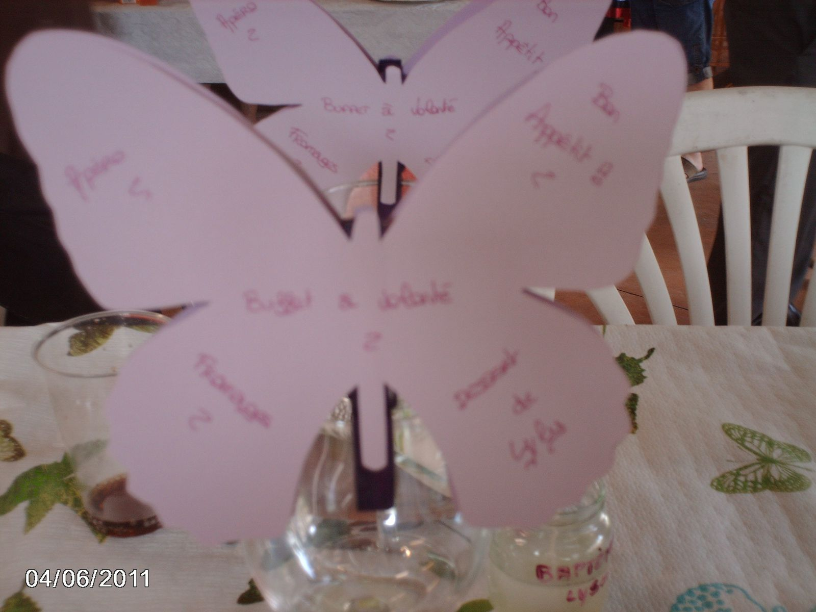 Album Decoration Bapteme Papillons Le Blog De Les
