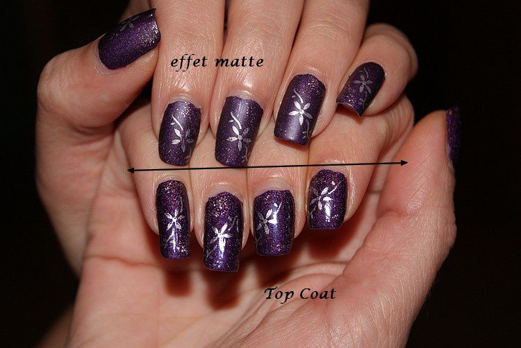 comment rendre un vernis brillant mate how to make a gloss to matte passion nail art. Black Bedroom Furniture Sets. Home Design Ideas