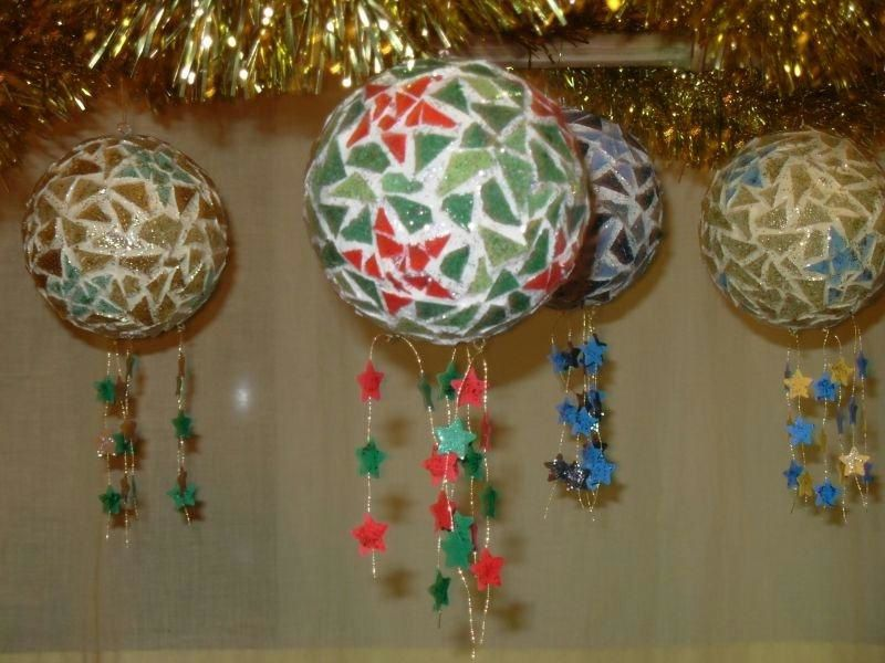 Supports a decorer art 39 ist - Decoration boule polystyrene pour noel ...