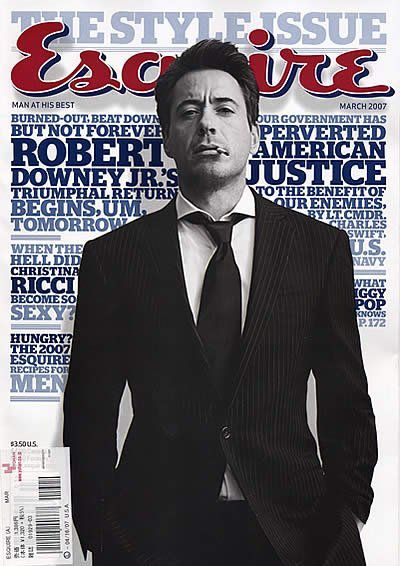 robert downey jr esquire