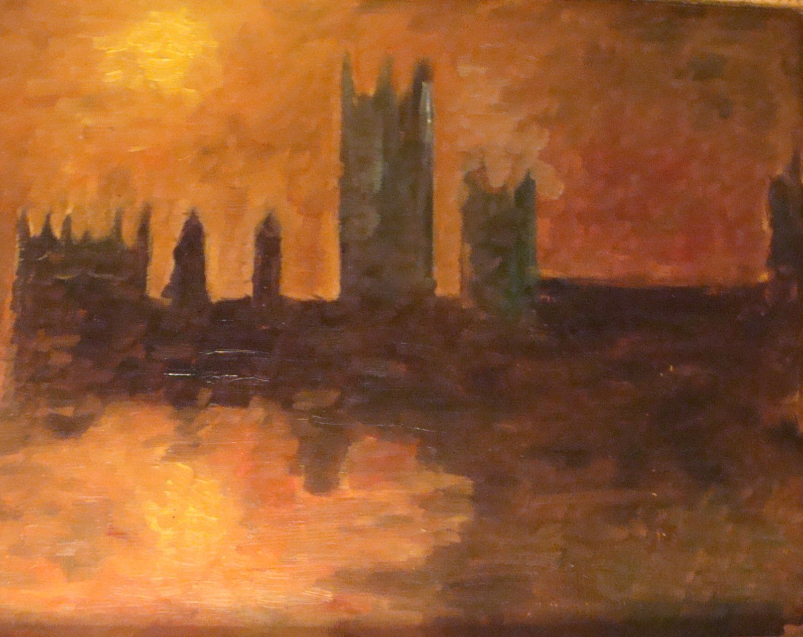 D\'après Monet :Londres - Le blog de Michel Closmenil artiste peintre