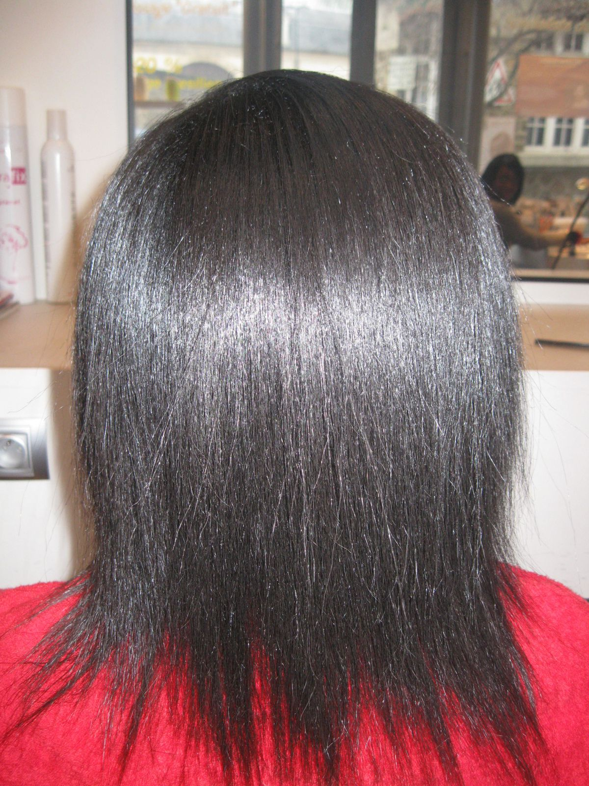 Album lissage sur cheveux de type afro lissage for Lissage bresilien cheveux crepus salon