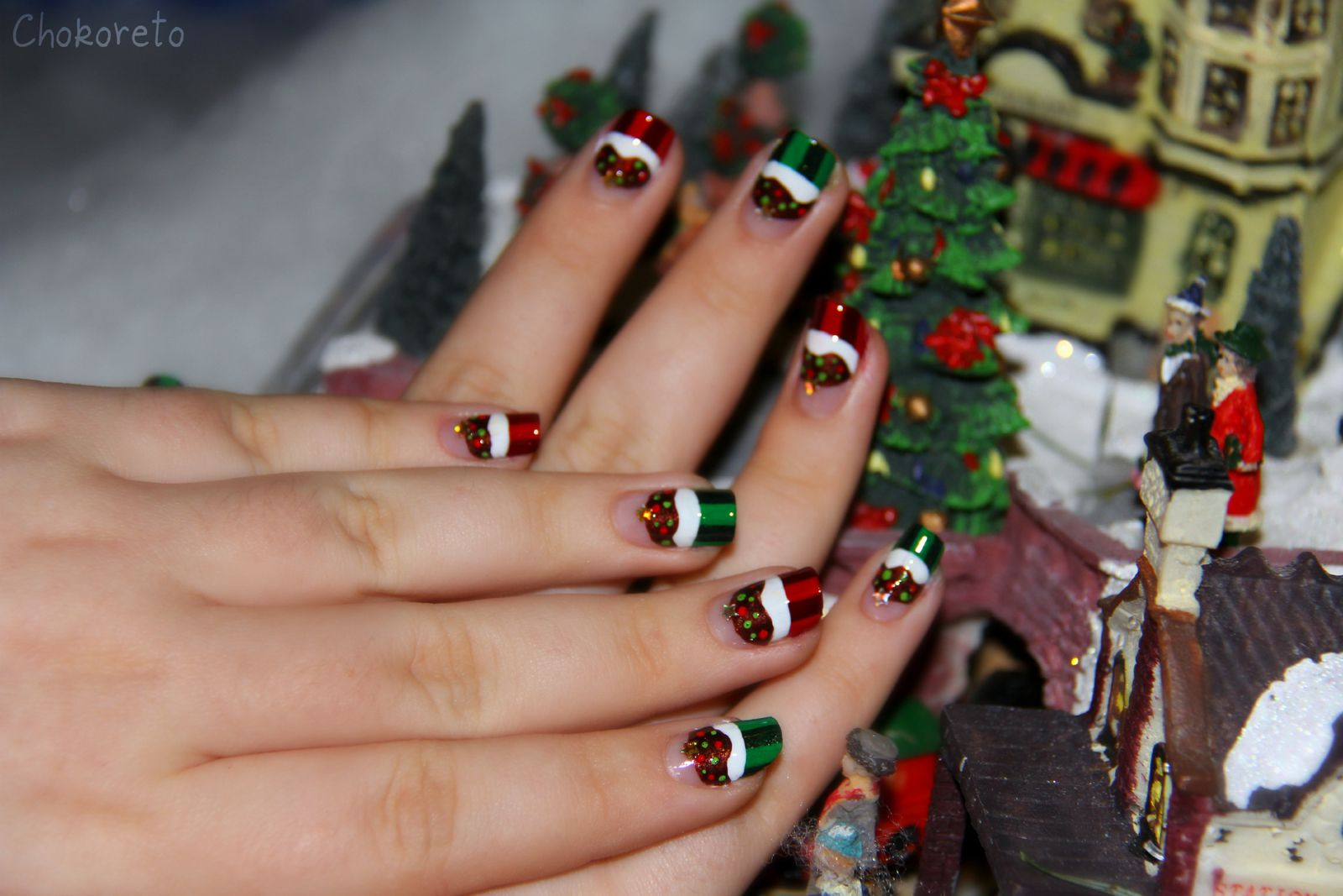 Nail Art - Candies of the Parties(Holidays) - Girly Corset - Candy ...
