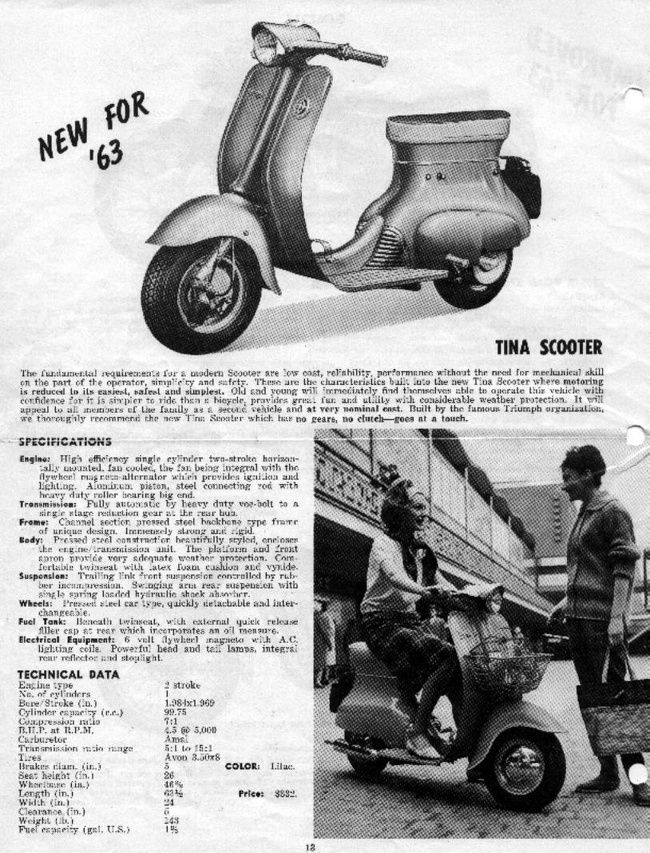 doc scooter Triumph