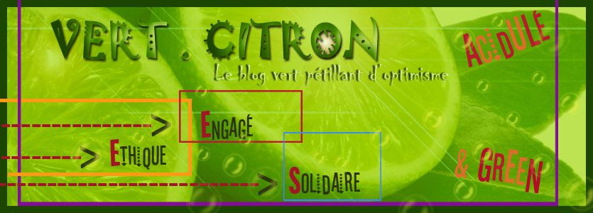 banniere vert citron