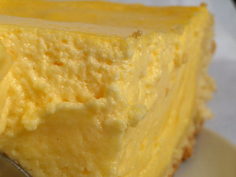 Gateau fromage blanc avec pudding vanille
