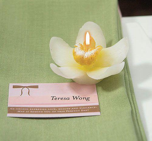 bougie décorative zen