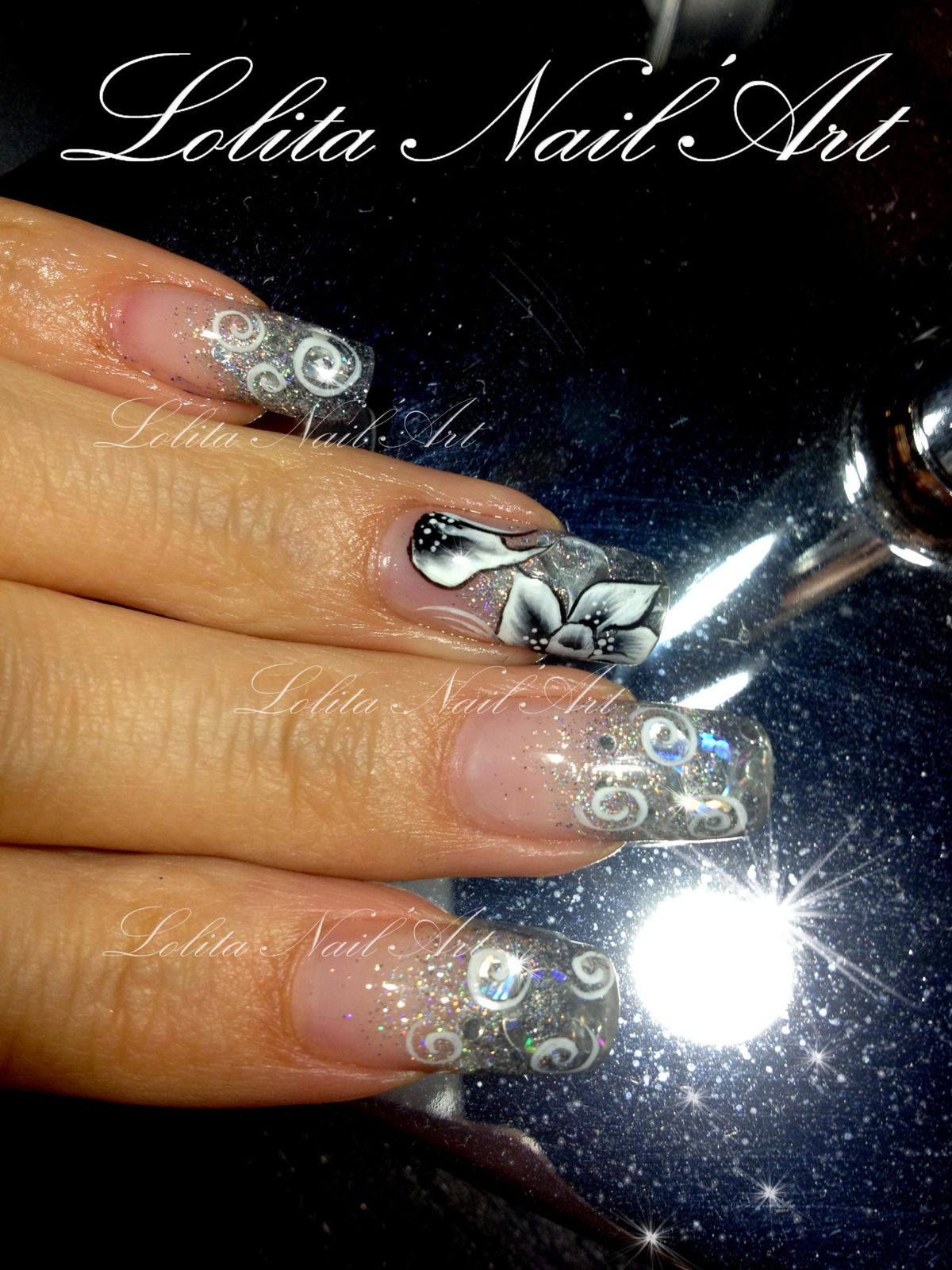 Reportage Vid O Beauty Nails Lolita Nailart