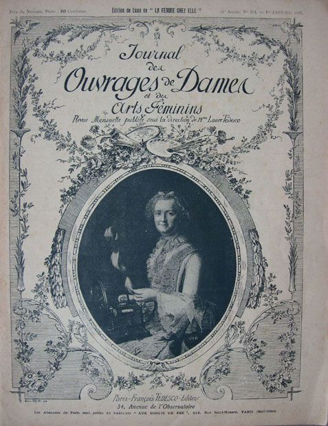 Le journal d 39 ouvrages de dames 1900 brocante antiquit s - Journal des brocantes ...
