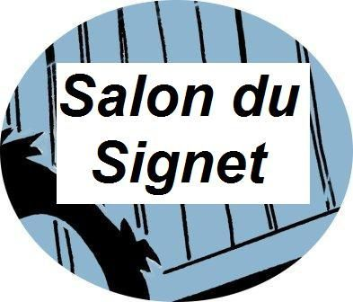 rond bouton blog web salon signet