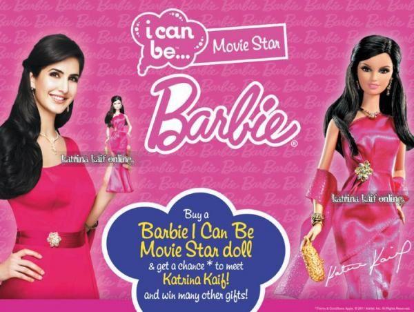 Affiche Publicitaire De Barbie Katrina Les News Bollywood