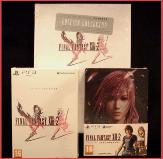 FFXIII-2 collector