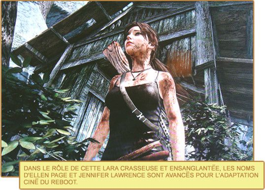 Tomb Raider Lara adaptation ciné rebooot