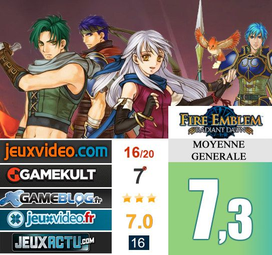 Fire Emblem Radiant Dawn test