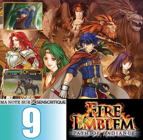 Fire Emblem Path of Radiance test