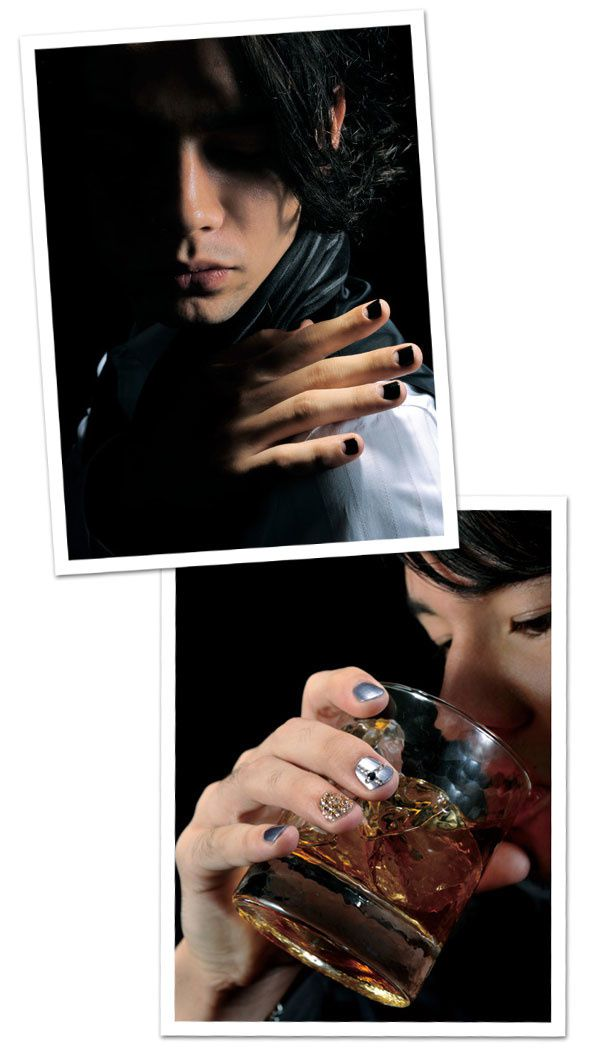 photo homme nailart 2