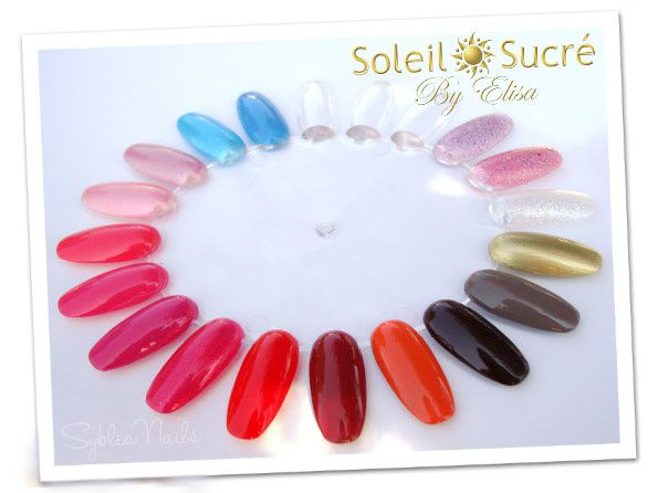 soleil sucre-collection onglier