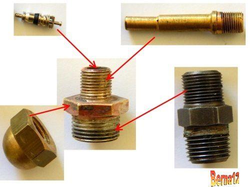 racord valve