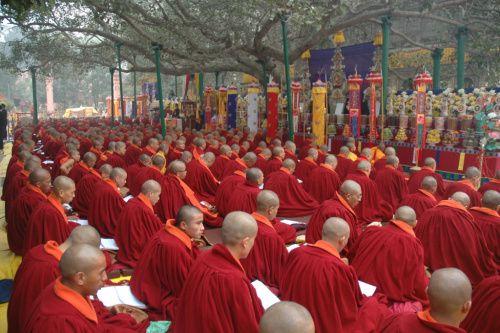 ordained sangha